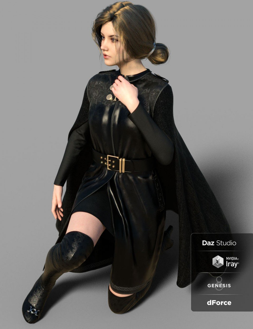dForce MRB Outfit for Genesis 8 Female