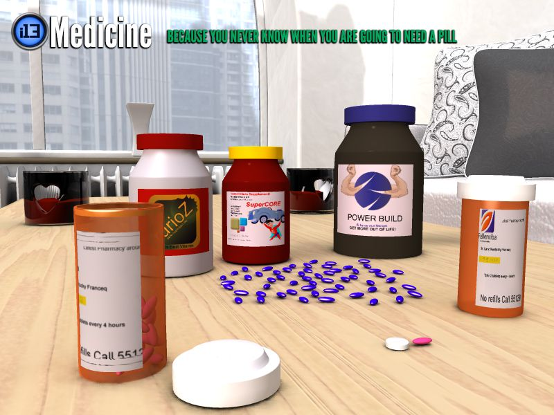i13 Medicine_DAZ3D下载站