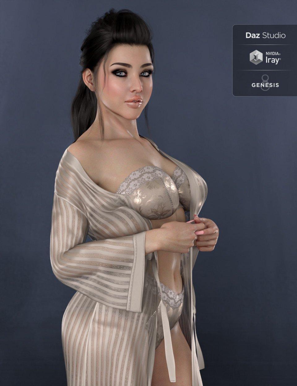 DT- Kirana for Genesis 8 Female_DAZ3D下载站