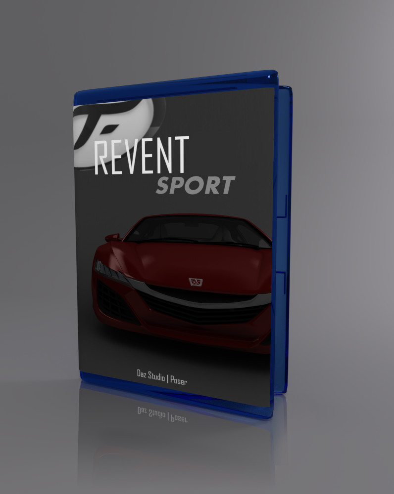 Revent Sport_DAZ3D下载站