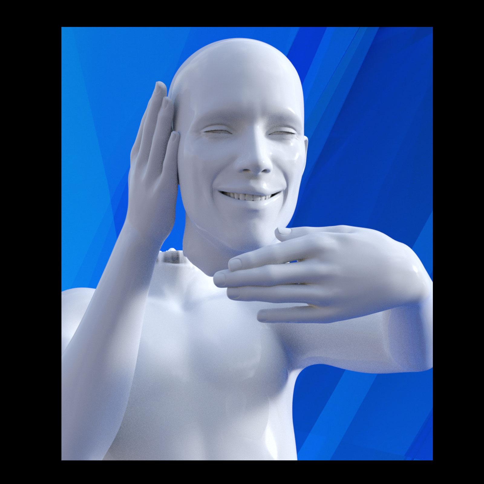 Chopped Head for Genesis 3 Male_DAZ3D下载站