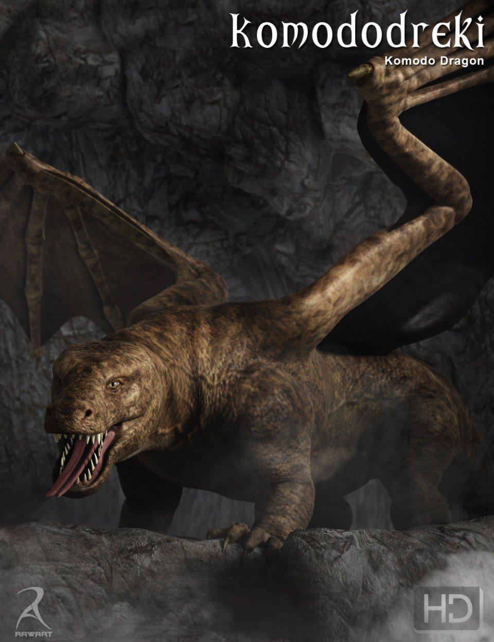 Komododreki – The Komodo Dragon HD_DAZ3D下载站