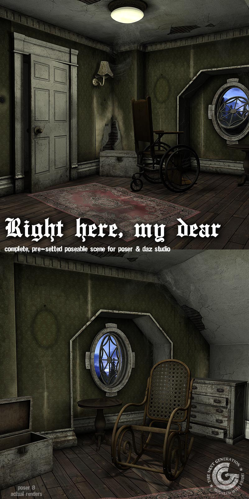 Right Here_DAZ3D下载站
