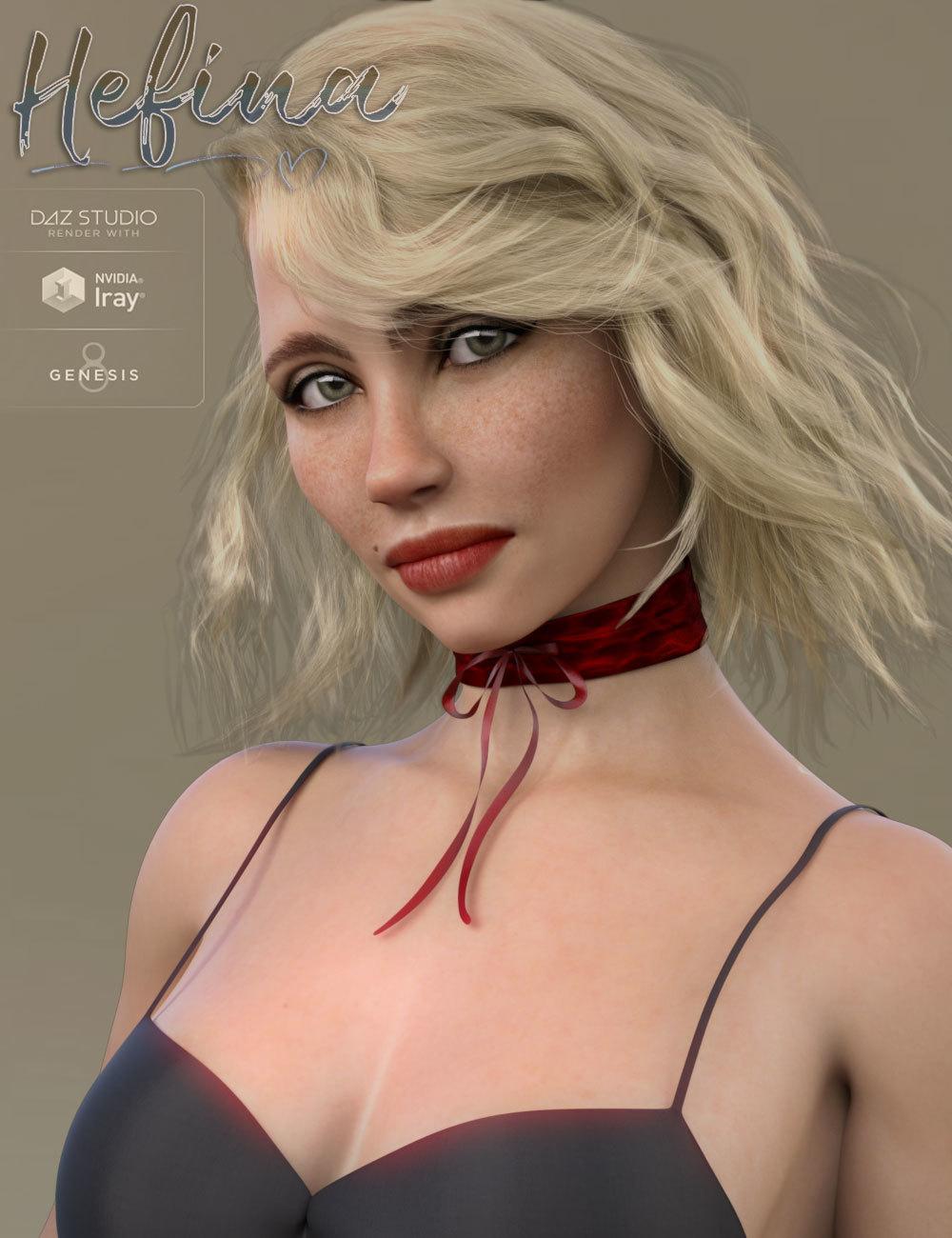TDT-Hefina for Genesis 8 Female_DAZ3D下载站