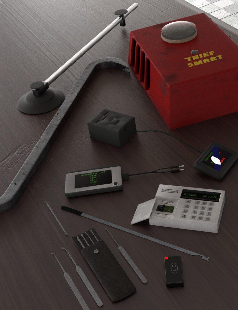 Thief Tools_DAZ3D下载站