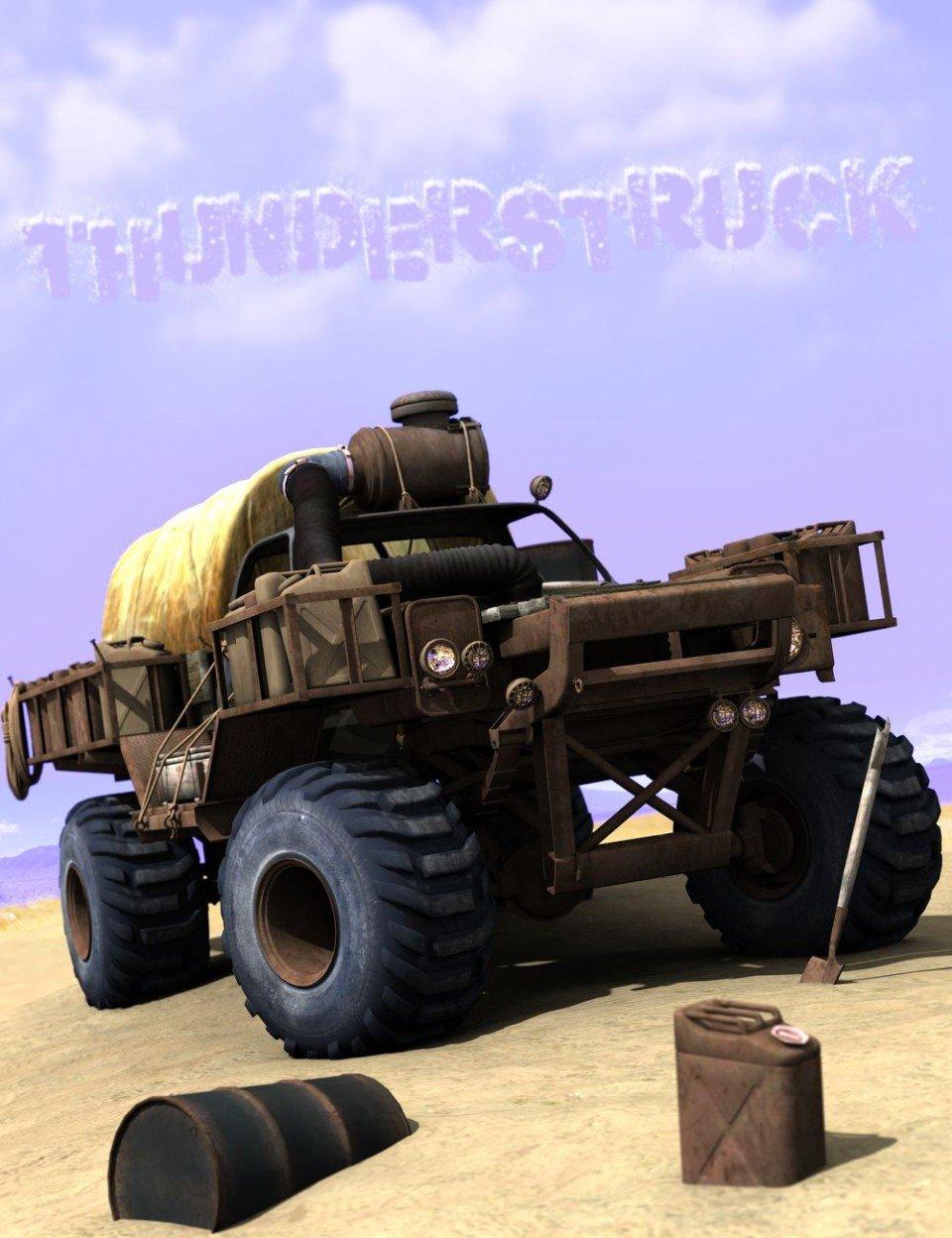 ThunderStruck_DAZ3D下载站