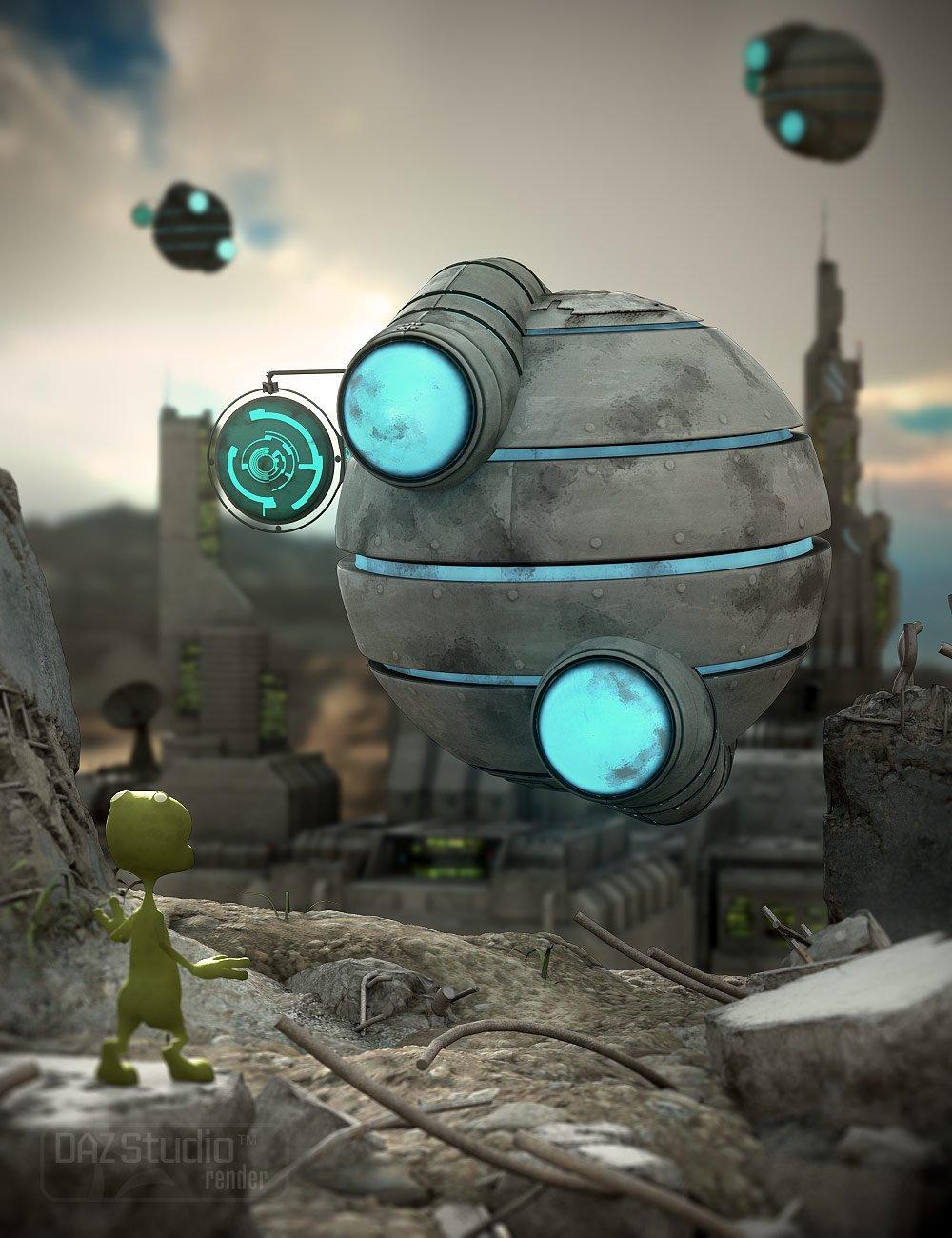 Alien Module_DAZ3D下载站