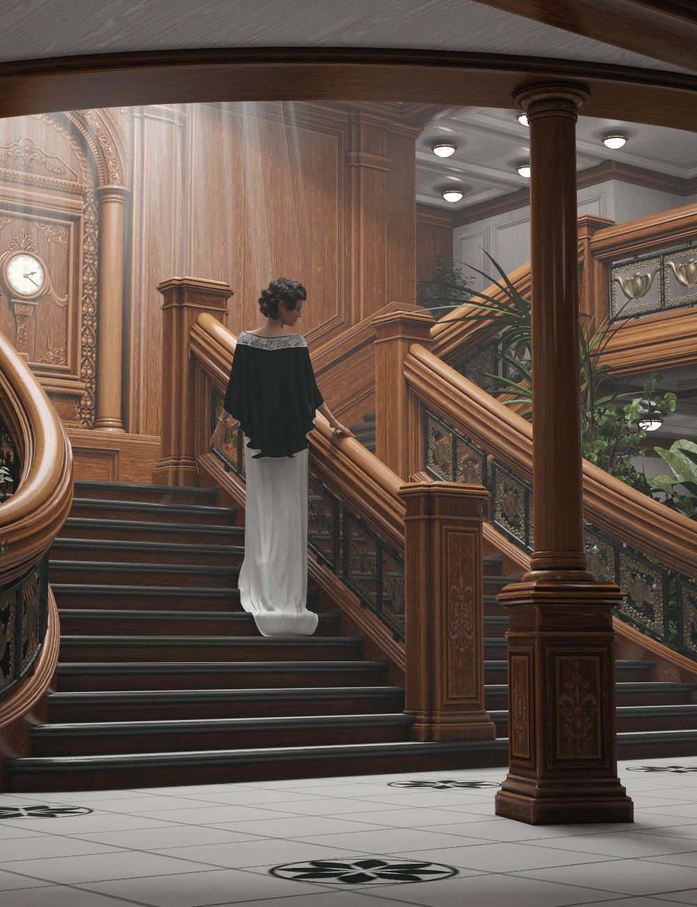 Grand Staircase 2020_DAZ3D下载站