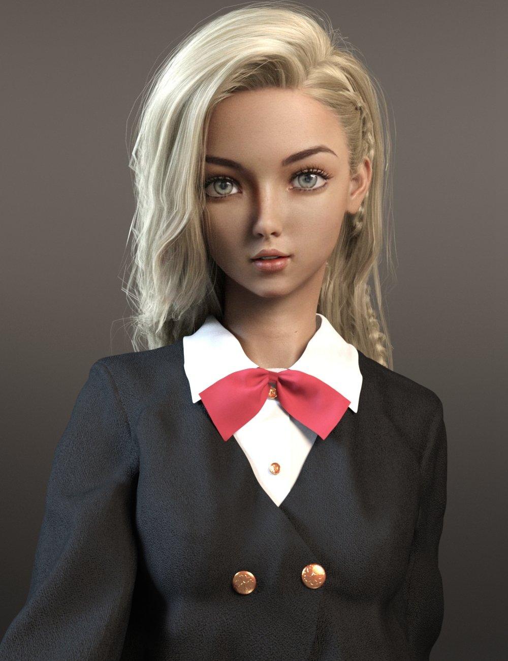 Midori for Genesis 8 Female_DAZ3D下载站