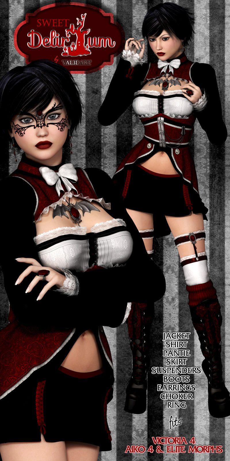 Sweet Delirium V4_DAZ3D下载站