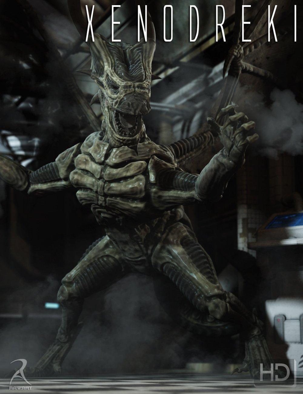 Xenodreki – The Alien Dragon HD_DAZ3D下载站