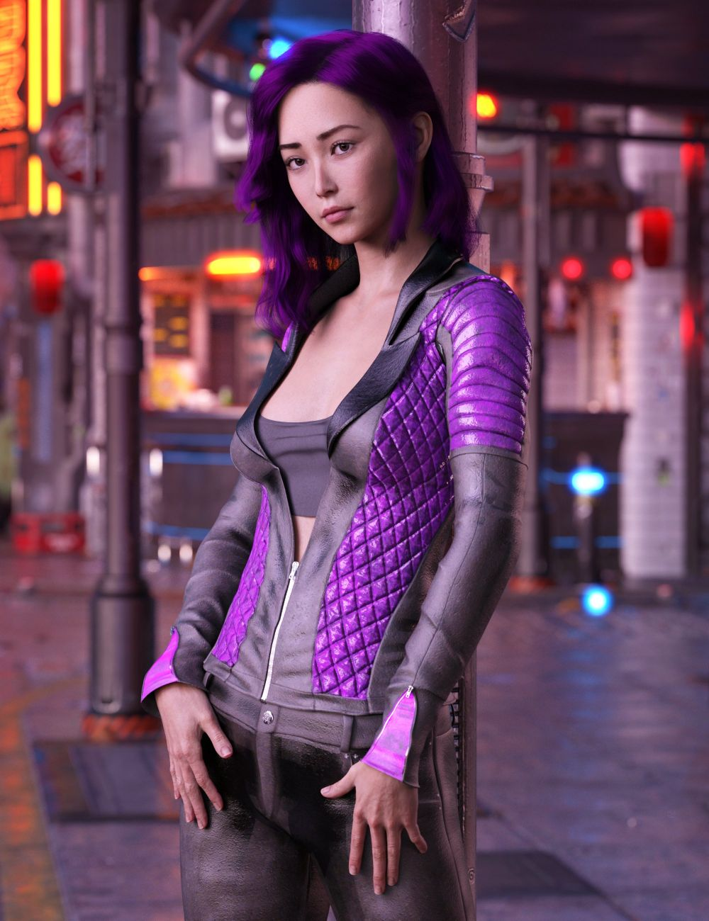Zhao HD for Genesis 8 Female_DAZ3D下载站