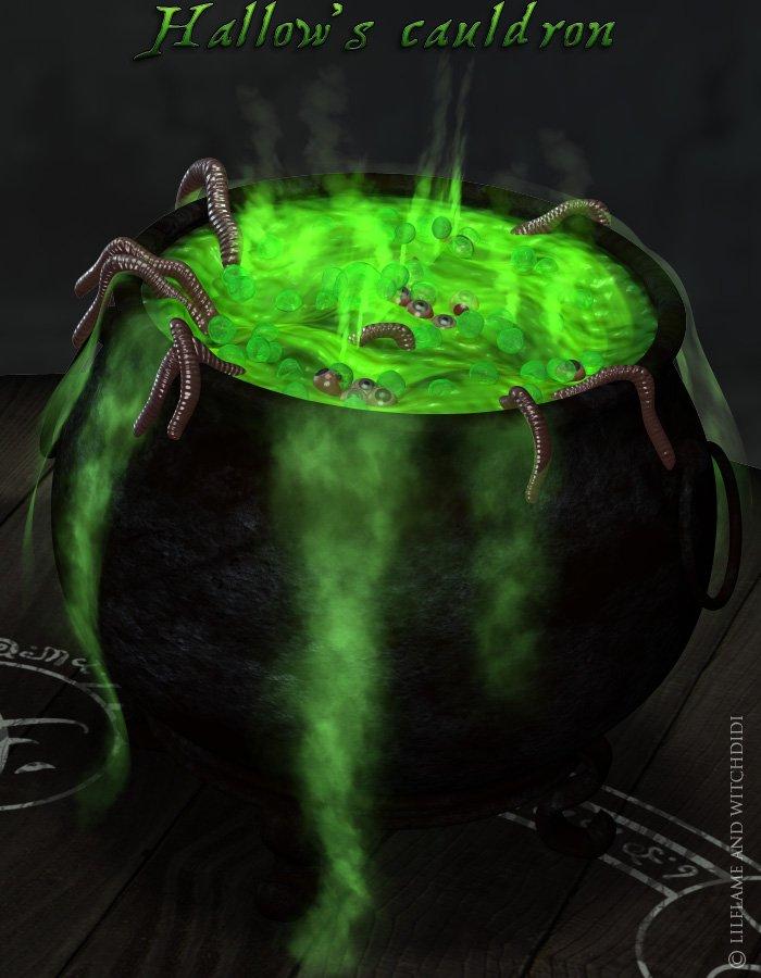 Hallow's Cauldron_DAZ3D下载站