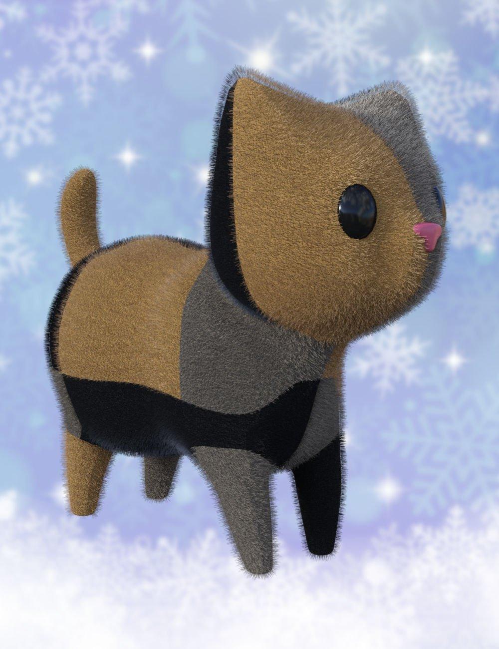 Plush Cat_DAZ3D下载站
