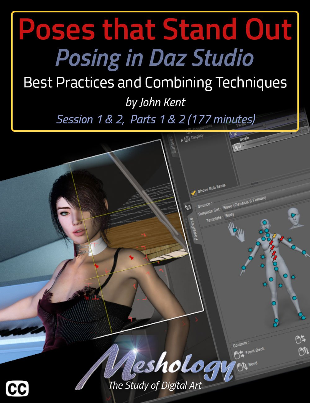 Poses That Stand Out_DAZ3D下载站