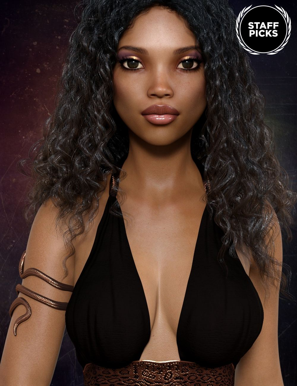 Keyana for Genesis 8 Female_DAZ3D下载站