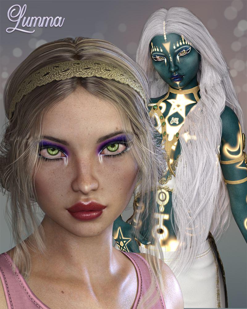 Lumma for Genesis 8 Female_DAZ3D下载站