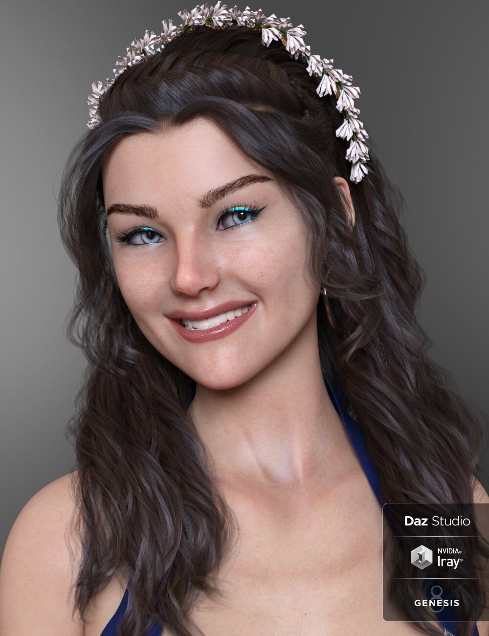 Ainara HD for Genesis 8 Female and Ainara Lights_DAZ3D下载站