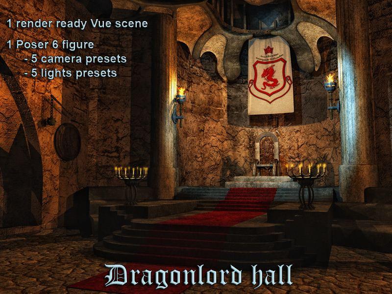 Dragonlord Hall_DAZ3D下载站