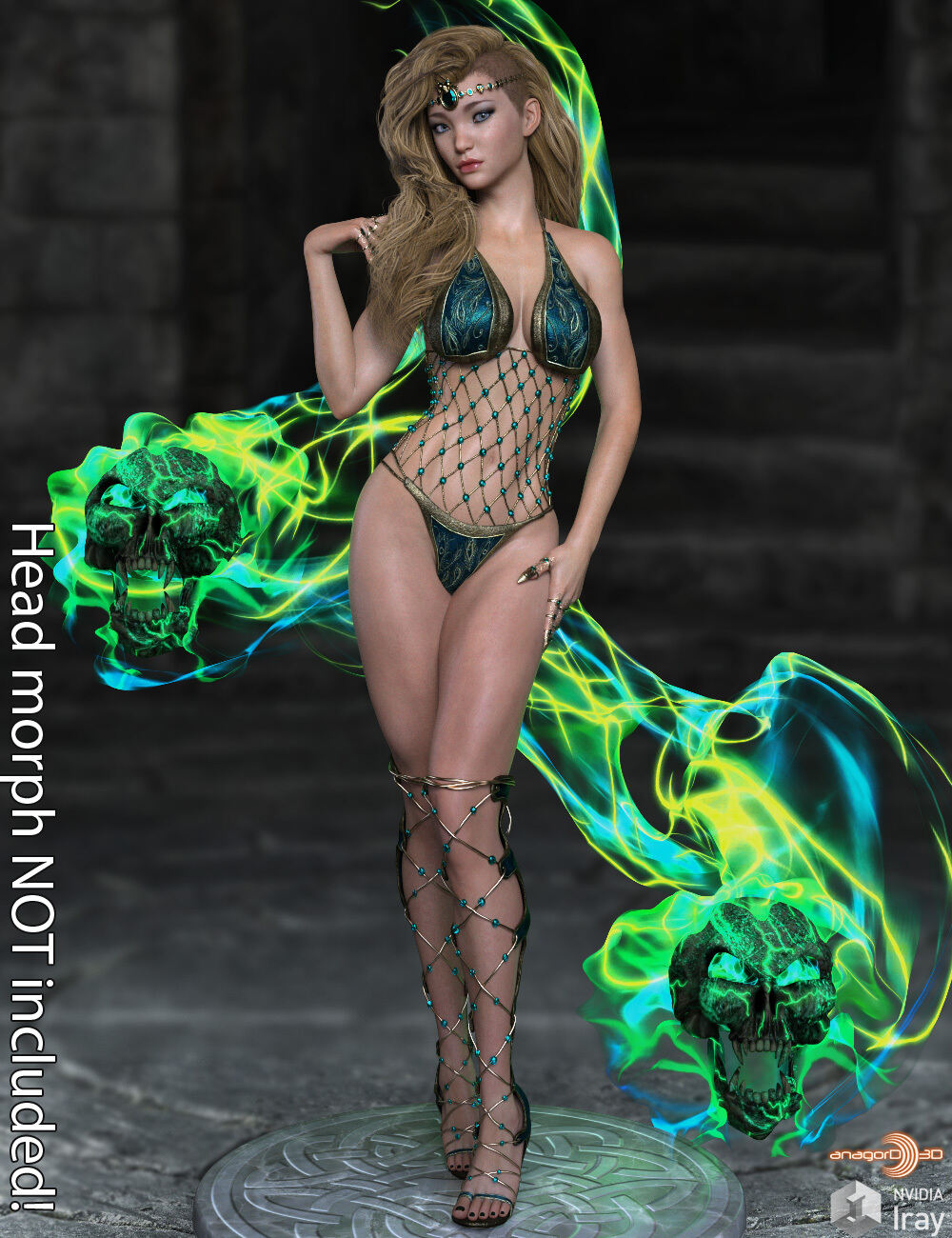 Fantasy Body Morphs for G8F Vol 1_DAZ3D下载站