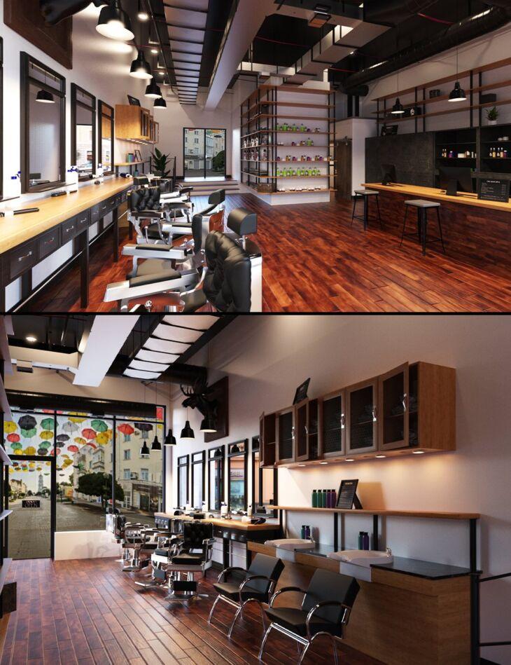 TS Barber Shop_DAZ3D下载站
