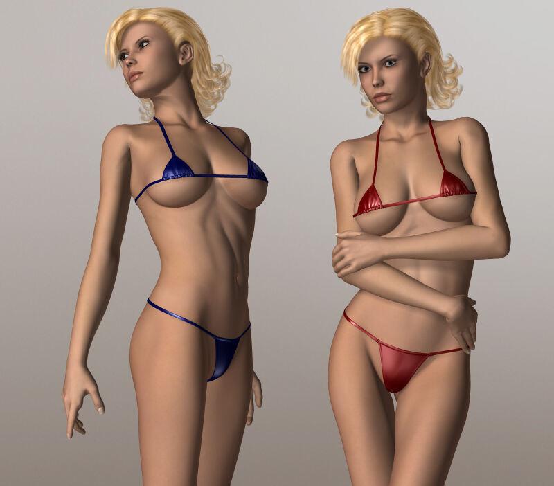 Tiny Bikini V4/A4/G4/S4_DAZ3D下载站